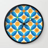 Citrus: Orange Grove Wall Clock