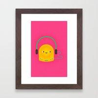 Walkman Framed Art Print