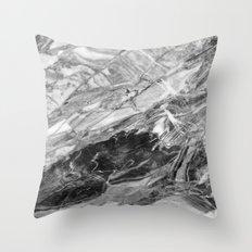Carrara Marble Throw Pillow