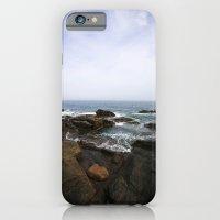 iPhone & iPod Case featuring Acadia View - Ocean Scene  by Jean Ladzinski