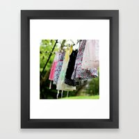 Sugar and Spice Framed Art Print