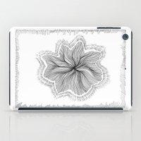 Jellyfish Star I B&W iPad Case