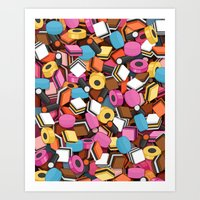 Allsorts Art Print