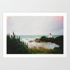 New Zealand: Bluff Lighthouse Art Print