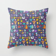 Pocket Collection 2 Throw Pillow