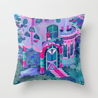 Bertram's House Throw Pillow