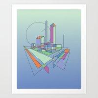 City Movements 03 Art Print