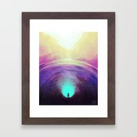 Seeking Solace Framed Art Print