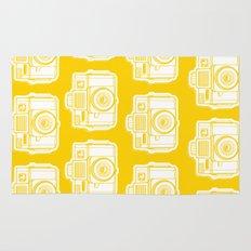 I Still Shoot Film Holga Logo - Reversed Yellow Rug
