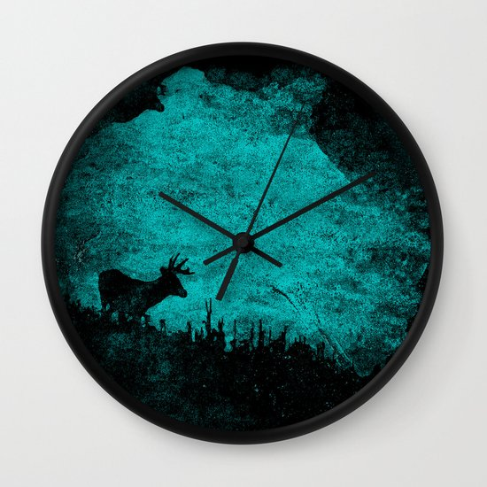 Patronus in a Dream Wall Clock