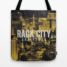 Black Yellow Cool Rack City Las Vegas Photography Tote Bag