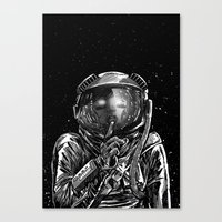 The Secrets of Space Canvas Print