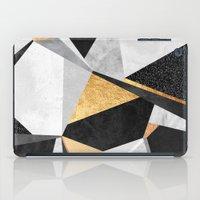 Geometry / Gold iPad Case