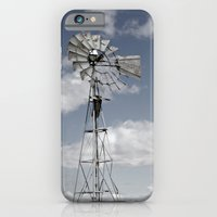 iPhone & iPod Case featuring VINTAGE WINDMILL by clare menke