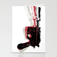Blaster (Left) Stationery Cards