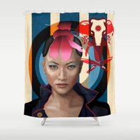 Queen of Darkness Far Cry 4 -  Yuma Shower Curtain