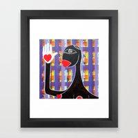 MAMMA AFRICA-CUORE IN MA… Framed Art Print