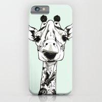 Giraffe Tattooed  iPhone 6 Slim Case