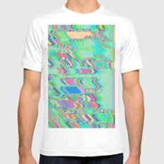 Jacotte White SMALL Mens Fitted Tee