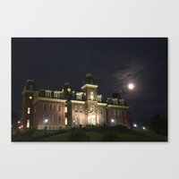 West Virginia University Canvas Print
