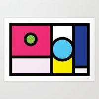 No. 8 Art Print