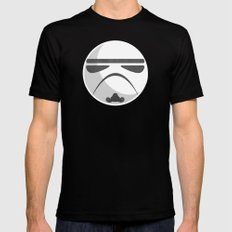 Star Wars IV: A New Hope SMALL Black Mens Fitted Tee