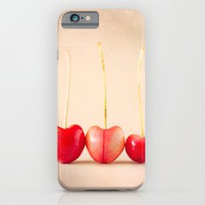 Cherry Heart Goodness iPhone 6 Slim Case