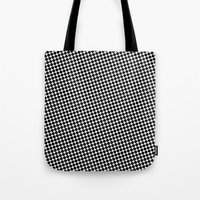 WHITE DOT Tote Bag