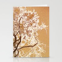 Golden Sky Stationery Cards