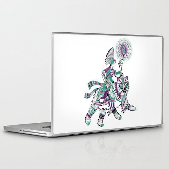 The Bear Rider Laptop & iPad Skin