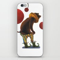 DEPRESSED CAT iPhone & iPod Skin