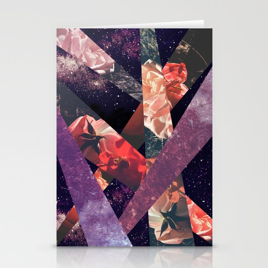 ROSES IN THE GALAXY Stationery Card