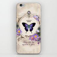 Shine like the universe is yours iPhone & iPod Skin