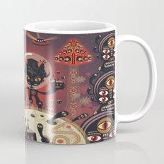 DJ Hammerhand cat - party at ogm garden Mug