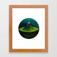 AXIS MUNDI.  Framed Art Print