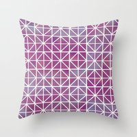 Broken Geometry 2 Throw Pillow