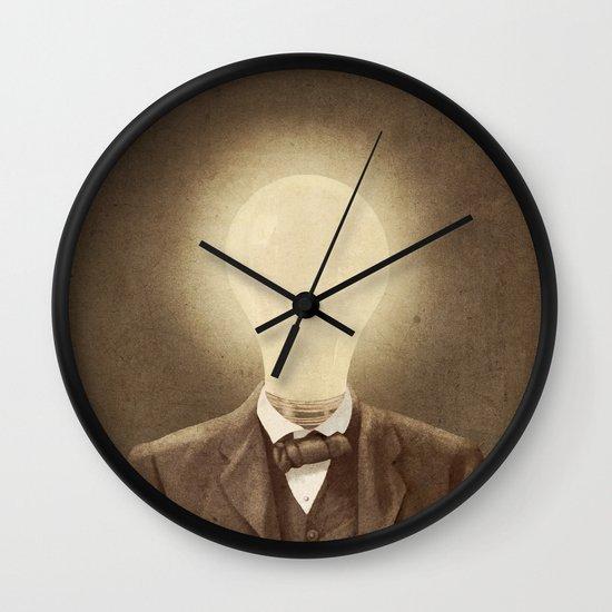 The Idea Man  Wall Clock