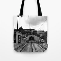 Duboce Tunnel Again Tote Bag