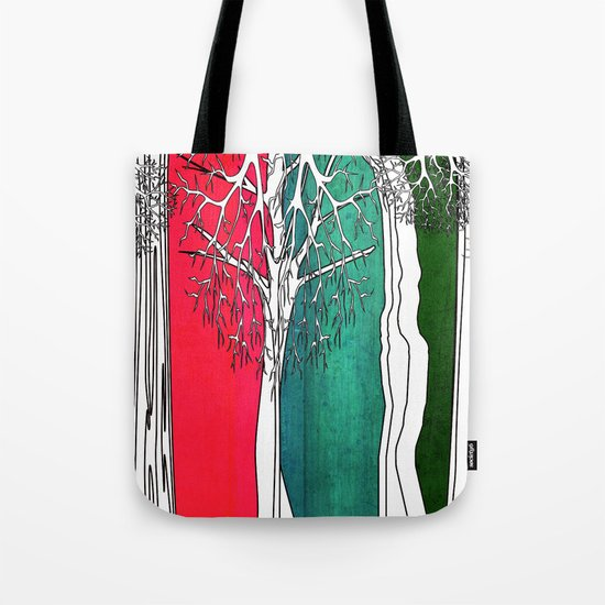 Color Forest Tote Bag