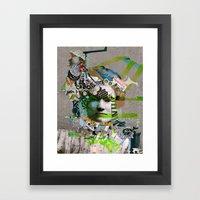 Hoodoo Heroine Framed Art Print
