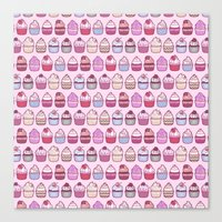 Cupcakes Galore Canvas Print