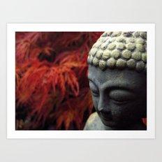 Autumn - Buddha Art Print