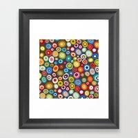 freckle spot lead Framed Art Print