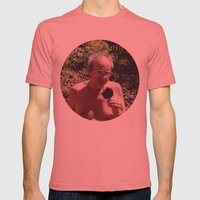 PETE Mens Fitted Tee Pomegranate SMALL