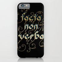 iPhone & iPod Case featuring Actions speak louder than words by Lori Petersen