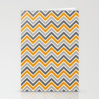 chevron Stationery Cards featuring Chevron by eARTh