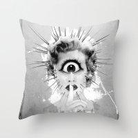 Shhh… Redux Throw Pillow