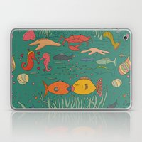 Fishy Kisses Laptop & iPad Skin
