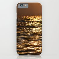 iPhone & iPod Case featuring Sea sunset  by Lo Coco Agostino