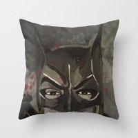 Gotham Vixen Throw Pillow